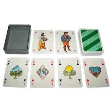 "Masenghini ""Arthur Miller"" Playing Cards, San Paolo Instituto Bancario, Lidia de Vettori Designs, c.1984"