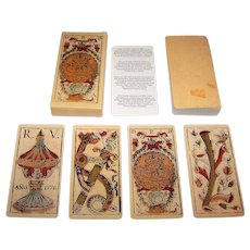 "Ediciones del Prado ""Baraja Valenciana"" Facsimile Playing Cards [Original Deck— B.T.F.V. (or R.V.) ""Valencian"", c.1778]"