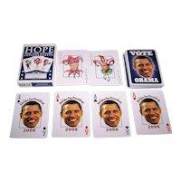 "Parody Production ""Presidential Playing Cards,"" Obama Deck, Kelley Hensing Artwork, c.2008"