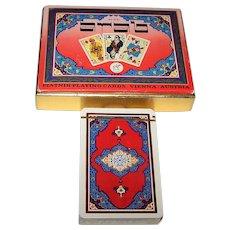 "Piatnik ""Arab"" Playing Cards (1 Deck, Double Box), c.1976"