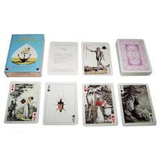 Merrimack Cotta Transformation Facsimile Playing Cards, c.1973