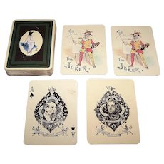 "Carta Mundi ""Kyd's Pickwick Playing Cards,"" USGS Publisher (Licensed from the Navarres Society), c.1984"