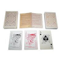 """Vaco Press Graphic Industry """"Suriname"""" Playing Cards, Brunings / Vergauwen / Reiziger Designs, c.1980"""