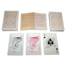 "Vaco Press Graphic Industry ""Suriname"" Playing Cards, Brunings / Vergauwen / Reiziger Designs, c.1980"
