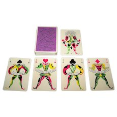 "Ets. Brepols, S.A. ""Gala de la Publicité"" Playing Cards, May Neama Designs, c.1960"