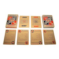 "Environs, Inc. ""Survival"" Playing Cards, c.1974"