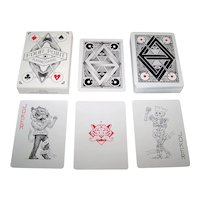 """USPC """"Four Point"""" Playing Cards, Four Point Studio Publisher, Benjamin Vierck Designs, c.2014"""