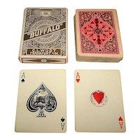 """C. L. Wuest No. 223 """"Buffalo Poker Karten"""" Playing Cards, c.1923-1929"""