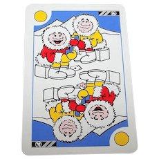 "Berliner Spielkarten Fabrik ""Berliner Pattern"" Playing Cards, Amusing Greenland Backs, c.1980"
