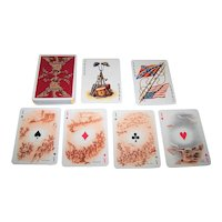 """Fournier """"American Civil War"""" Playing Cards, U.S. Games Systems Publisher, Teodoro Miciano Designs, c.1961"""