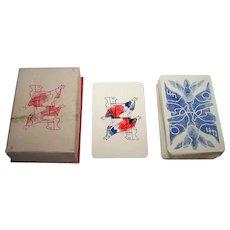 "Ets. Brepols ""Sturbelle"" Playing Cards, Renee Sturbelle Designs, c.1949"