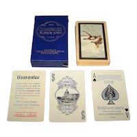 "USPC Congress 606 Playing Cards, ""The Flight"" Backs, c.1926"