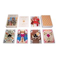 "Grimaud Jeanne d'Arc"" Playing Cards, Patrice Louis Designs, c.1976"