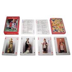 """Editions Dusserre (Boechat Frères) """"Les Saints Guérisseurs"""" Playing Cards, c.1995"""