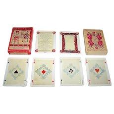 """Editions Dusserre (Boechat Frères) """"Jeu de Cartes Revolutionnaires – 1793: Jeu Prise de la Bastille"""" Playing Cards, c.1976"""