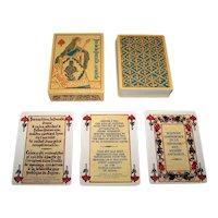 """Editions Dusserre (Boechat Freres) """"Jeu de la Pucelle 15th Siecle"""" Playing Cards, c.1976"""
