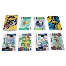 """USPC """"Bill Nye: The Science Guy"""" Playing Cards, """"Human Body/Physical Science"""" Deck, c.l990s"""