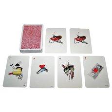 "Baiba Strautmane ""Karla Padega"" Playing Cards, Karla Padega Designs, c.1999"