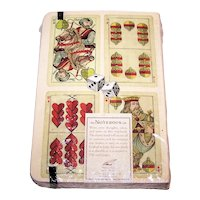 """Cavallini & Co. """"Notebook,"""" Playing Card Theme (Covers), Made in Italy, c.1990s"""
