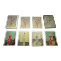 """Valetta """"Suits Suite"""" Playing Cards, Self-Published by Artist, Valetta Designs, c.1996"""