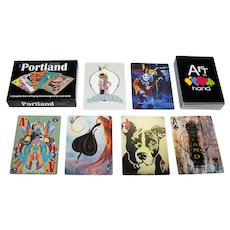 """Art in Hand """"Portland Project"""" Playing Cards, Various Artists"""