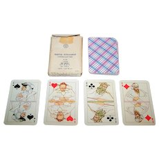 """Russia State Printing Works """"Theatrical"""" Playing Cards, c.1978"""