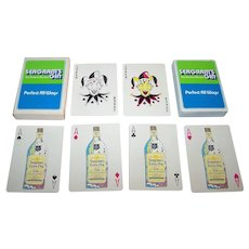 """Arrco """"Seagram's Gin"""" Playing Cards, c.1980"""