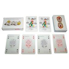 "Carta Mundi ""Koninklijke Nederlandse Lawn Tennis Bond"" (""Royal Dutch Lawn Tennis Association"") Playing Cards"
