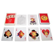 """USPC """"Elsie"""" Playing Cards, Borden, Inc. Publisher, c.1993"""