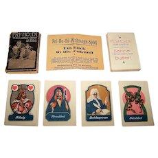 "H. Beucke & Sohne ""Fri-Ho-Di"" Fortune Telling Cards, c.1920s"