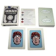 """Gemaco """"Mohegan Sun Casino"""" Playing Cards, Hole-Punched Deck"""