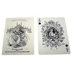 """New York Consolidated Card Company """"Squeezers 35"""" Playing Cards, c.1913"""