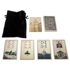 "The Game of Hope ""Alte Deutsch Lenormand"" Facsimile Lenormand Fortune Telling Deck [Original: Frommann & Bünte c.1875], Lauren Forestell Restoration"