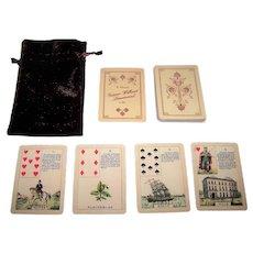 "The Game of Hope ""B. Meuris' Geueuns-Willaert Lenormand"" Facsimile Lenormand Fortune Telling Deck [Original: Geuens-Willaert Lenormand, c.1903], Lauren Forestell Restoration"
