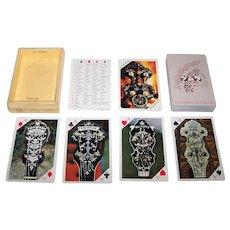 "Nintendo ""Tsumura Juntendo"" Playing Cards, Akira Tsumura Banjo Collection, c.1984"