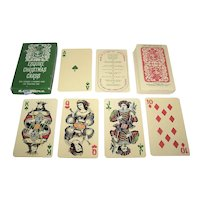 """Esquire """"Christmas Cards"""" Playing Cards, Maker Unknown, Christmas Jubilee Promotion, c.1962"""