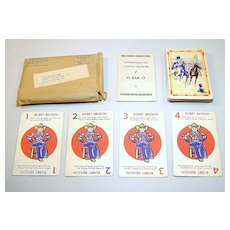 "H-Bar-O Ranch ""H-Bar-O"" Card Game(s), Bobby Benson Radio Show, c.1930s"