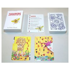 "Peter Wood Playing Cards, ""2000 PIPS"" Transformation Deck, Signed Numbered Limited Edition (692/1000), NIB"