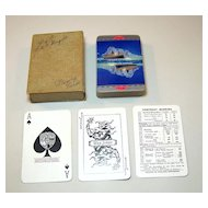 "De La Rue ""Peninsular & Oriental Steam Navigation Company"" Playing Cards, R.M.S. Mongolia, c.1930"