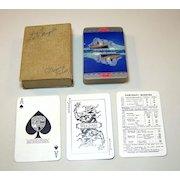 "De La Rue ""Peninsular & Oriental Steam Navigation Company"" Playing Cards, R.M.S. Mongolia, c.1930"