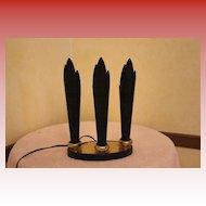Black Metal TV Lamp