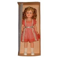Ideal Flirty Eyed Shirley Temple Doll with Original Box