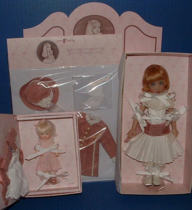 three doll outfits by Kish /& Company Helen Kish Ma Petite