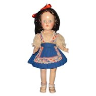 "Ideal 14"" Toni Doll in Original Dress"