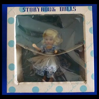 Nancy Ann Storybook Doll #125 Alice Thru the Looking Glass