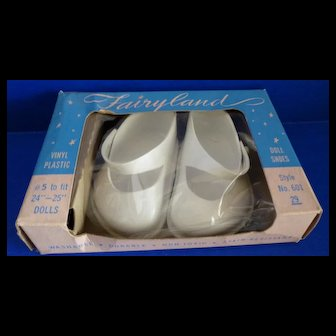 Fairyland Doll Shoes in Original Box