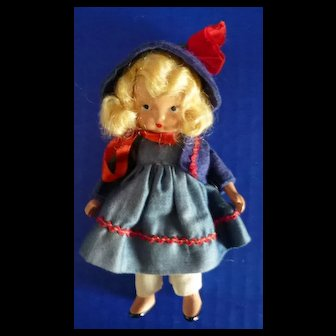 Nancy Ann Storybook Doll #109 Little Betty Blue