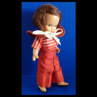 Nancy Ann Storybook Doll #112 Dillar - A Dollar
