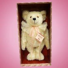 MIB White Mohair Steiff Ophelia Bear