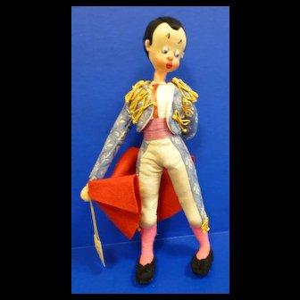 Klumpe Matador Doll with original Tags